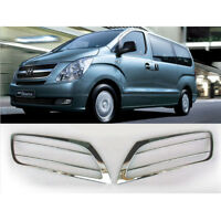 Chrome Fog Lamp Molding Trim 2p For 2007 2017 Hyundai i800 iMAX H1 Grand Starex
