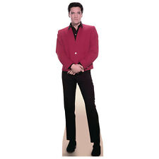 ELVIS PRESLEY Red Jacket CARDBOARD CUTOUT Standee Standup Poster FREE SHIPPING