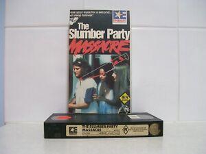VHS Videotape The Slumber Party Massacre - Embassy Home Entertainment EX RENTAL