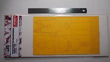 Hunter 1/700 IJN Phantom 'YAMATO' deck masking sheet for FUJIMI 42142 M700076