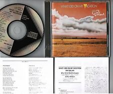 IAN GILLAN What I Did On My Vacation JAPAN CD INSERTS 32VD-1040 BLACK TRIANGLE