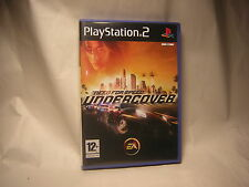 Playstation 2 Need For Speed Undercover PS2