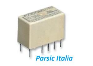 2 PEZZI=  V23079-A1003-B301 Relè Segnale, RELAY 12VDC, DPDT, 2A, 10PIN Siemens