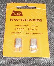 Quarzpaar für CB Funkgeräte, K11, TX-Frequenz 27.085 MHz, RX-Frequenz 26.63 MHz