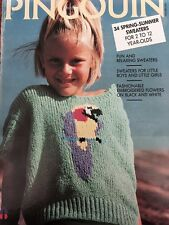 Pingouin Knitting Magazine - 34 Spring Summer Sweaters for 2 to 12 - Issue 115