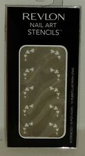 Revlon Nail Art Stencils Use On Bare Nails Or Enamel HEARTS 10ct NIP