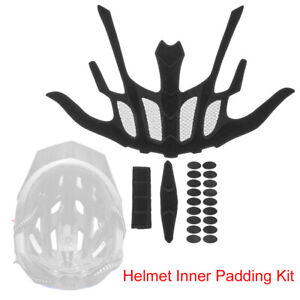 Cycling Replacement Protection Pad Helmet Inner Padding Kit Foam Pads Set A+