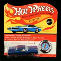 (MA2) 1969 Hot Wheels Redline Custom Continental Mark III