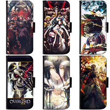 PIN-1 Anime Overlord Phone Wallet Flip Case Cover HTC Nokia Oppo Xiaomi