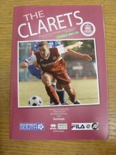 13/10/2012 Chelmsford City v Eastleigh  . Any faults with this item should alrea
