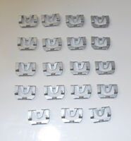 Fits 66-67 DODGE CHARGER Windshield Molding Chrome Reveal CLIP KIT