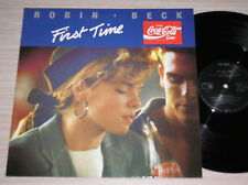"""ROBIN BECK - FIRST TIME - MAXI-SINGLE 12"""" GERMANY"""