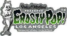 Rockin Jelly Bean Green Erosty Pop! Sticker Decal R34G