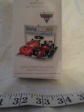Hallmark Keepsake Ornament Christmas Disney Pixar Cars 2 Int Race Rivals 2011