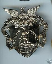 old Cap Badge Fork Union Military Academy Virginia pin