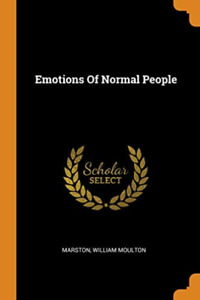 Marston William Moulton-Emotions Of Normal People (US IMPORT) BOOK NEW