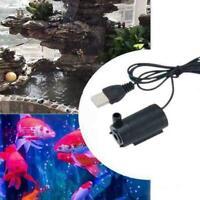 Mini Tauch Wasserpumpe USB 1 M 3 V Kabel DC Stumm Wasserpumpe für Aquarium M5V6