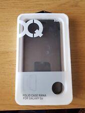 Xqisit Rana Folio case for Galaxy S6 - Black Metallic