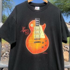 Rare VTG 90s Ace Frehley Kiss A$$ Tour Band Music Tour KISS T Shirt XL