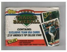 1993 Topps Traded Baseball Complete Factory Set 132 Cards
