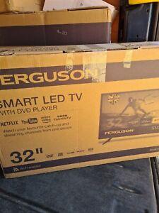 "FERGUSON 32"" INCH SMART LED TV DVD, FREEVIEW HD, WIFI, HDMi, USB,"