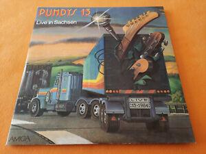 Puhdys 13 Live in Sachsen 2 LP Amiga 8 56 063/064 Blue Label 1984 DDR