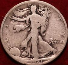 1921 Philadelphia Mint Silver Walking Liberty Half