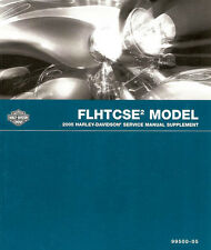 2005 Harley FLHTCSE2 Electra Glide CVO Service Repair Manual Supplement