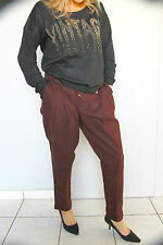 pantalon velours ras marron HIGH USE T 36/38 (I 42) NEUF ÉTIQUETTE valeur 340€