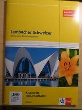 Lambacher Schweizer Mathematik Einführungsphase Arbeitsheft mit Lernsoftware NEU