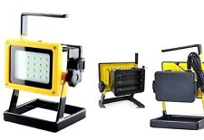 Faro 30W=100 interno esterno portatile impermeabile batterie ricaricabili 20 LED