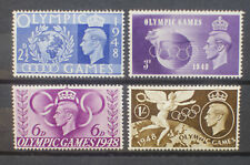 GB KGVI 1948 Olympic Games Set of 4 MNH. SG 495-498