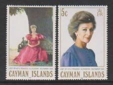 Cayman Islands - 1988, Visit of Princess Alexandra set - MNH - SG 675/6