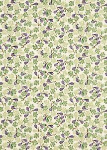 Rare Emma Bridgewater Figs Purple Fabric L: 60cm x W: 140cm 100% Cotton