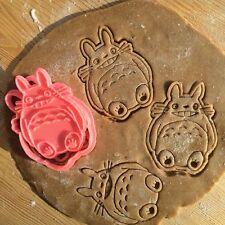 Studio Ghibli - New Totoro cookie cutter - 1pcs - Plastic 3d printed (PLA)