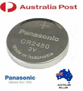 CR2450 DL2450 PANASONIC ORIGINAL Lithium Battery coin cell 3V TOY GAME REMOTE