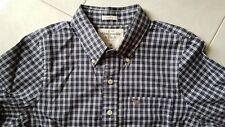 ABERCROMBIE & FITCH camicia col. blu quadretti tg. M