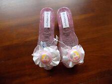 Disney Store Princess Sleeping Beauty Costume Dress Up Shoes Jelly 12 Girls