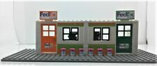 Lego Custom City Town Village FedEx OFFICE. 2 computers. 2 scales