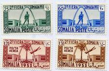 Somalia AFIS, 1953 2.a fiera della Somalia (serie cpl 4 val)**