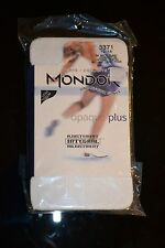 MONDOR + ICE FIGURE SKATING TIGHTS + FOOTED + MODEL 3371 + WHITE 56 + SIZE 12-14