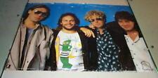 Van Halen David Lee Roth 1980 Promo & Sammy Hagar Vintage Posters