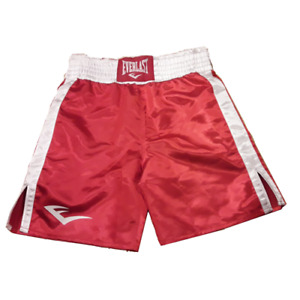 Everlast Trousers Boxing Satin Red