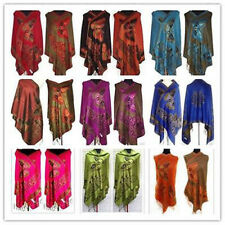 Fashion New Chinese Lady Double-Side Butterfly Pashmina Scarf Shawl X-mas Gift