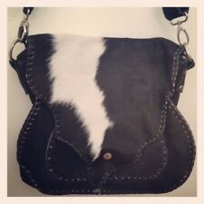 New Leather Fur Handbag. Hand Made from Natural Materials and Leathers.
