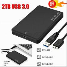 Case for 2TB USB 3.0 Portable External Hard Drive Ultra SATA Storage Device