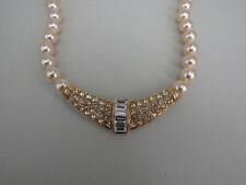 Neugablonz: Perlenkette Design Collier Swarovski Elements (36984)