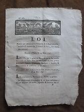 1791.LOI adjudications Immeubles & baux judiciaires. DECRET ASSEMBLEE NATIONALE