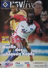 Programm 2000/01 HSV Hamburger SV - VfB Stuttgart
