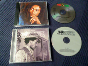 2 CDs Bob Marley & The Bunny Wailers LEGEND & Classic JAD Years 1967-1972 Tosh